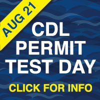 CDL Testing Date July 24